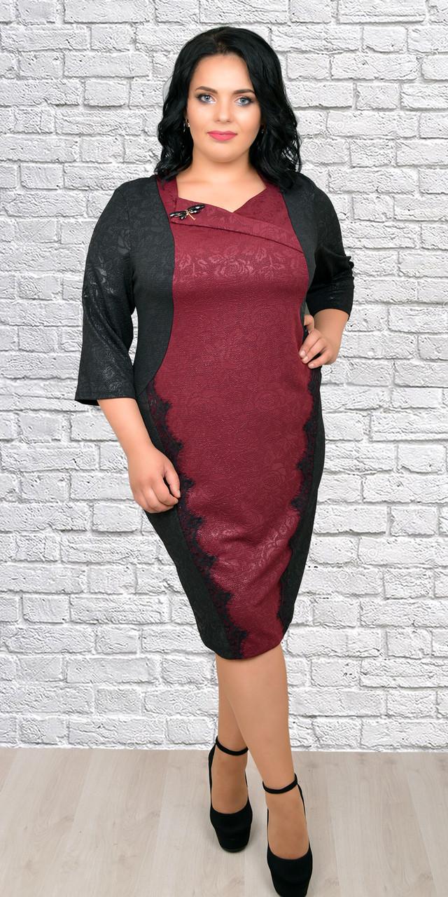 d168b653a8bf03e Стильное женское платье больших размеров, 56,58,60,62: продажа, цена ...