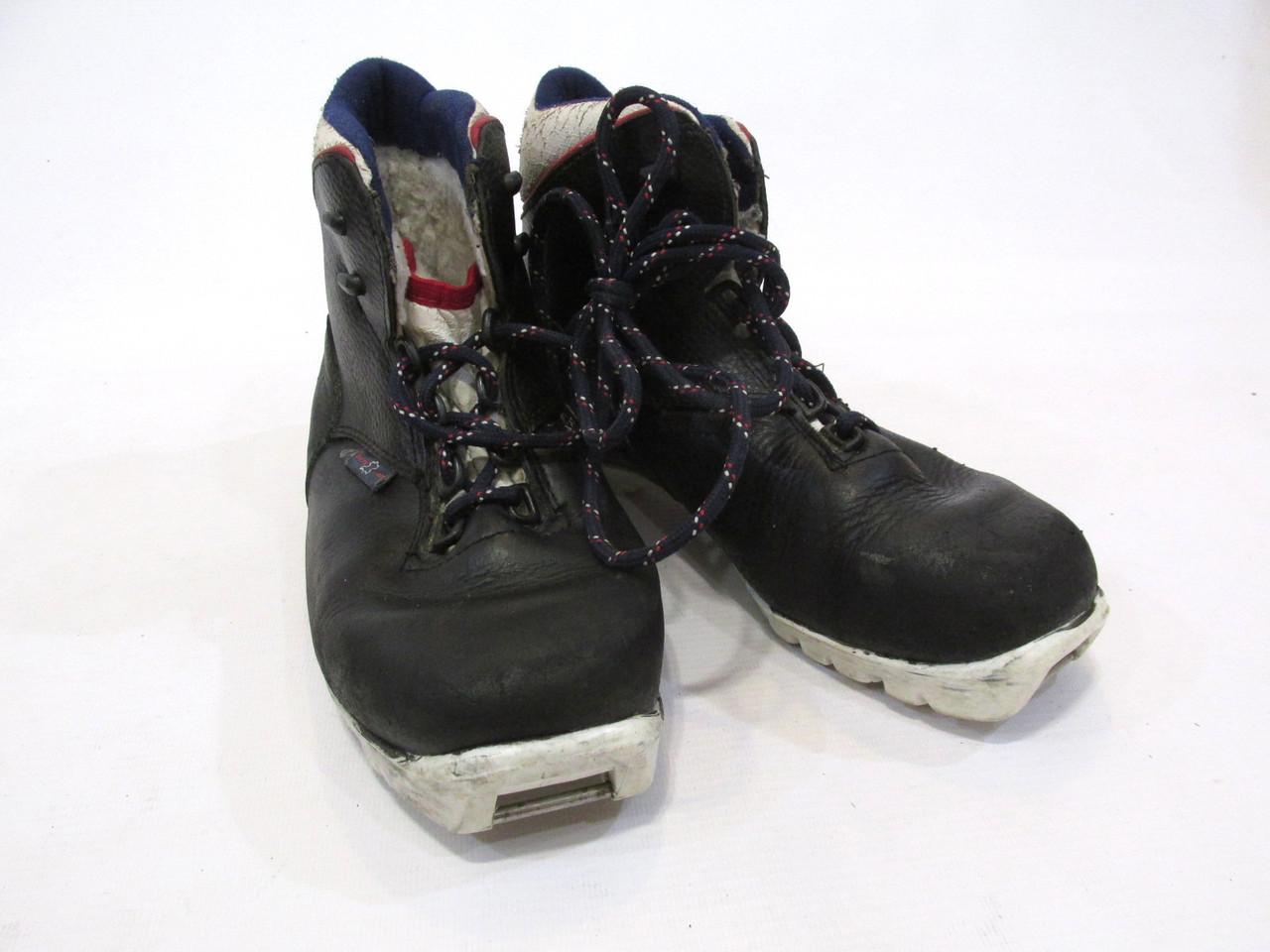 Ботинки лыжные Alpitex, Thinsulate, NNN, 23 см (36) кожа, Оч хор сост!