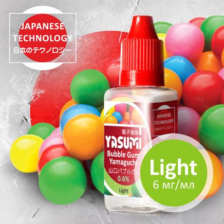 Жидкость Yasumi для электронных сигарет. Жевательная резинка Ямагучи | Bubble Gum Yamaguchi 30мл