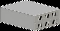 Корпус металлический, модель  MB-40ECU-W304H100L230, RAL9006(Metallic textured), металик муар, фото 1