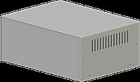 Корпус металлический MB-39ECU-W295H120L217, RAL9006(Metallic textured), металик муар, фото 1