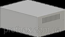 Корпус металевий MB-39 (Ш295 Г217 В120) металік, RAL9006(Metallic textured)