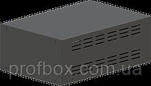 Корпус металевий MB-16 (Ш220 Г325 В120) чорний, RAL9005(Black textured)