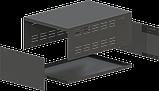 Корпус металевий MB-16 (Ш220 Г325 В120) чорний, RAL9005(Black textured), фото 2
