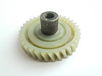 Шестерня электропилы цепной ворскла (левый наклон зуба), фото 1