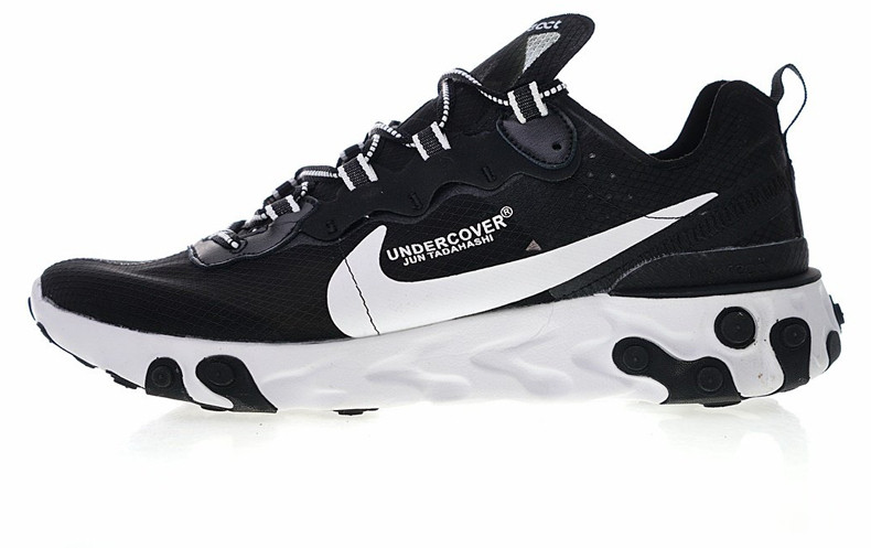 c4f63ea71dc7 Мужские кроссовки UNDERCOVER x Nike Upcoming React Element 87 Low  Black White