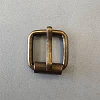 Пряжка литая 16 мм антик