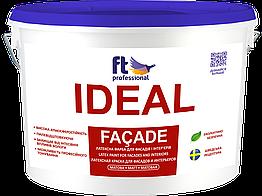 Атмосферостойкая латексная краска для фасада и интерьера Ftp Ideal Fasade