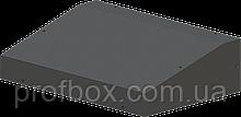 Корпус металевий з похилою панеллю MB-24 (Ш330 Г220 В90) чорний, RAL9005(Black textured)