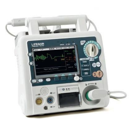 Дефибриллятор-монитор CU-HD1 укомп.: модуль SPO2, кардиостимулятор, автоадаптер, фото 2