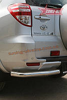 "Защита задняя ""уголки"" d 60 (компл. 2 шт) Союз 96 на Toyota RAV-4 2009-2012"