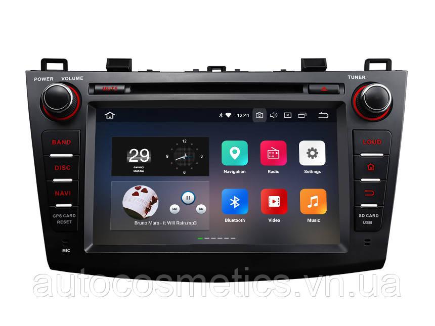 Автомагнитола EONON  GA9163K Нова розроблена Mazda 3 2010 - 2013 подвійна DIN 8 дюйма Android 8.0