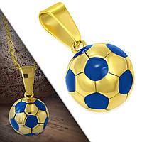 Кулон футбольный мяч 316 Steel, фото 1