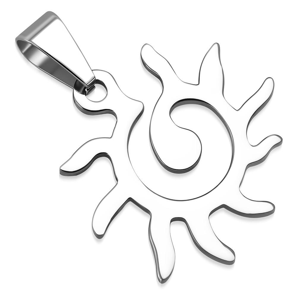 Кулон солнце 316 Steel