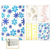 Штора в ванну J00730 вінілова, 180 * 180см, ванна шторка, штори для ванн, шторки для душу, шторки для ванної