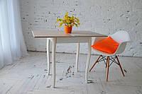 Стол Компакт раскладной 50 см х 60 см с фигурными деревянными ногами , фото 1