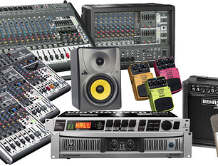 Музыкальное и звуковое оборудование