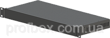 Корпус металевий Rack 1U, модель MB-1200vS (Ш483(432) Г202 В44) чорний, RAL9005(Black textured)
