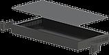 Корпус металевий Rack 1U, модель MB-1200vS (Ш483(432) Г202 В44) чорний, RAL9005(Black textured), фото 2