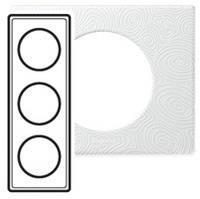 Рамка - Программа Celiane - эксклюзивная - 3 поста - фарфор белая феерия