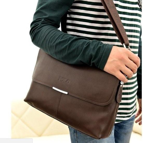 Большая мужская сумка Polo Dark BR