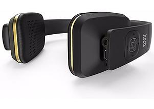 Беспроводные наушники bluetooth Hoco W9 Yinco Wireless Headphone Black, фото 3