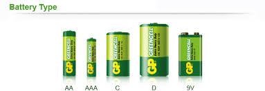 Батарейка GP Greencell AAA R03