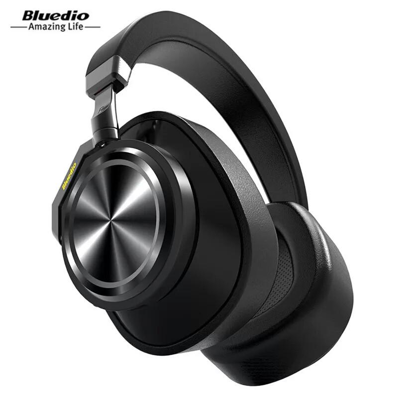 Беспроводные наушники (гарнитура) Bluedio T6 Active Black