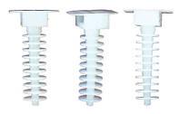 Держатель кабельной стяжки (50 шт.) белые LXL