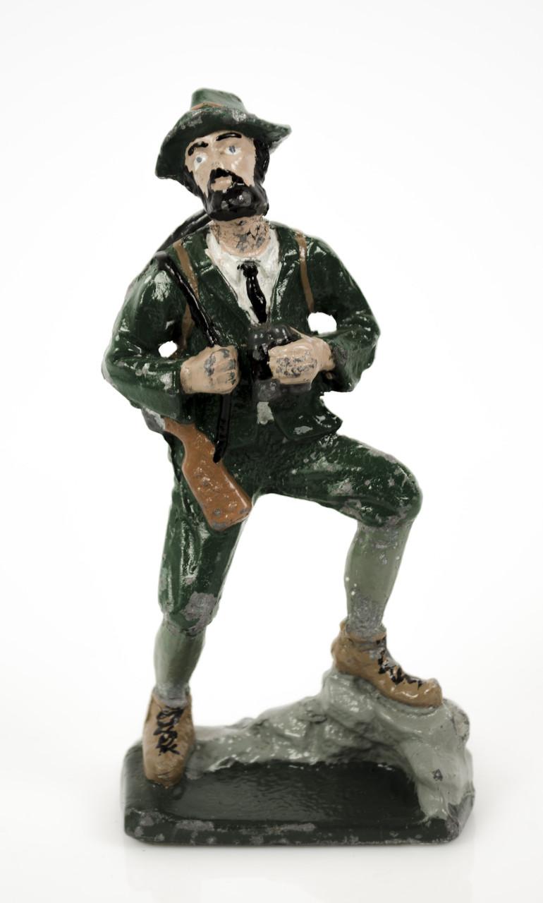 Статуэтка Охотник, Германия, олово, h 13 см