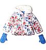 Куртка с варежками  Rothschild(США) для девочки 2-3 года
