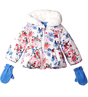 Куртка с варежками  Rothschild(США) для девочки 2-3 года, фото 1