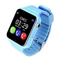 Детские смарт-часы Samtra V7K с GPS голубые
