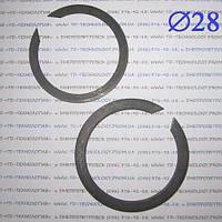 Кольцо стопорное Ф28 ГОСТ 13940-86 (НАРУЖНОЕ), фото 1