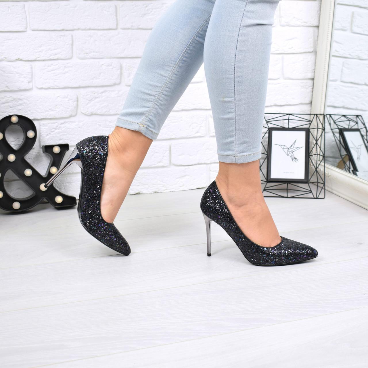 Туфли женские Fashion черные 5241 0e6725a07a1de
