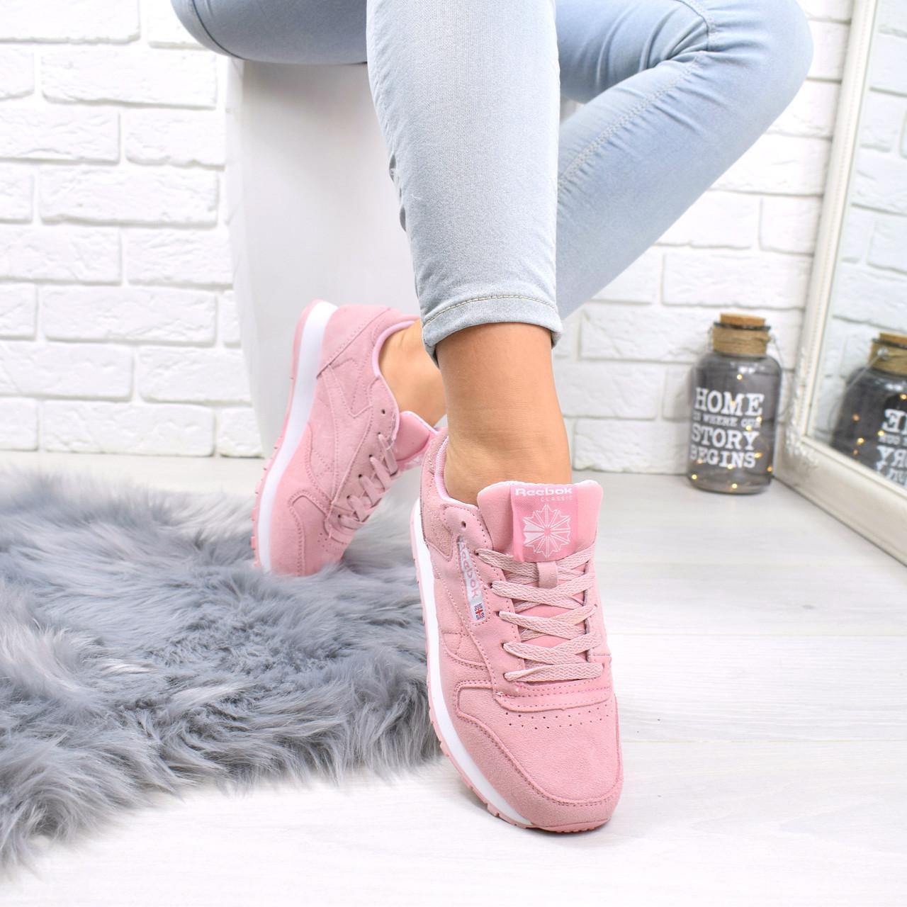 184166b6de91 Кроссовки женские под Reebok розовый 5247, спортивная обувь  продажа ...