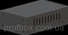 Корпус металевий MB-50 (Ш90 Г150 В45) чорний, RAL9005(Black textured)