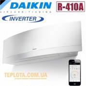 Кондиционер инверторный DAIKIN FTXG35LW - RXG35L (DAIKIN EMURA new, белый, модель 2014 года)