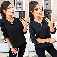 Блузка арт. 116 черного цвета, фото 1