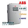 Солнечный инвертор сетевой ABB TRIO- 5.8-TL-OUTD (5.8 кВт, 3 фазы, 1 трекер)