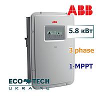 Солнечный инвертор сетевой ABB TRIO- 5.8-TL-OUTD (5.8 кВт, 3 фазы, 1 трекер), фото 1