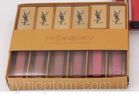 Блеск матовый Yves Saint Laurent (6 цветов) оптом