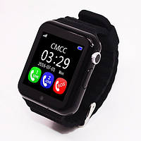 Детские смарт-часы Samtra V7K с GPS черные, фото 1