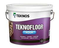 Водоразбавляемая краска для пола (Тара 9 л)Teknos Teknofloor Aqua