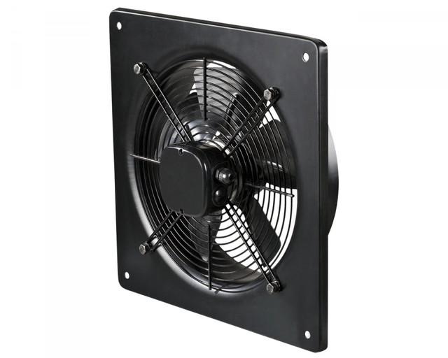 Настенные осевые вентиляторы низкого давления