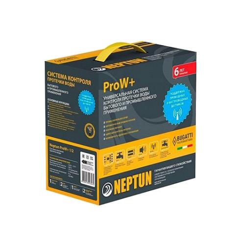 Комплект контроля протечки воды Neptun Bugatti ProW+ 12В 1/2