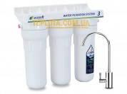 Новинка! Проточный бытовой фильтр для воды Ecosoft  EcoFiber (Экософт, трехступенчатый, подмоечный) - СНИЖЕНИЕ ЦЕНЫ!