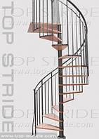 Спиральная лестница TORONTO LEMN