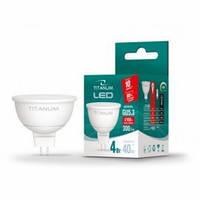 LED лампа TITANUM MR16 4W GU5.3 4100K 300Lm