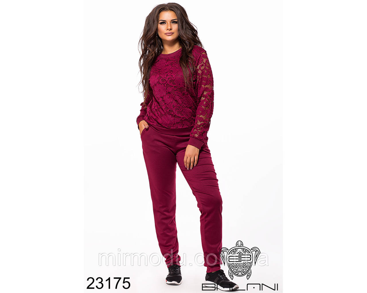 Спортивный костюм - 23175 с 48 по 54 размер(бн)